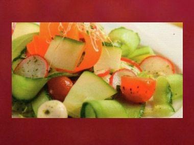 Večeře 56  Zeleninový salát