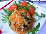 Lososové burgery s quinoa a špenátem recept