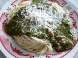 Nouzové špagety se špenátem recept