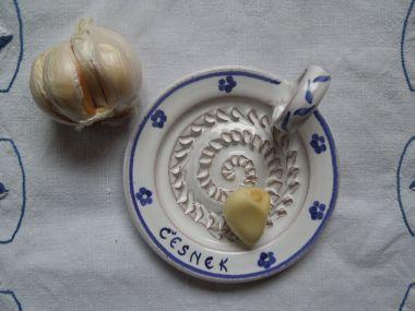 Sýrová Pomazánka s česnekem (S tvrdým sýrem)