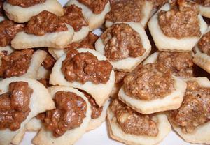 Ořechové sušenky slané i sladké