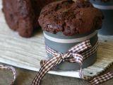 Čokoládové muffiny s kousky čokolády recept