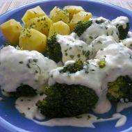Brokolice se sýrovou omáčkou recept