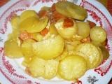 Sýrové zapékané brambory recept
