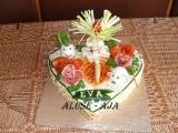 Slaný dort  pro Evu recept