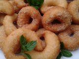 Tvarohové kroužky se skořicí recept