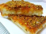 Krupicove Kunafe recept