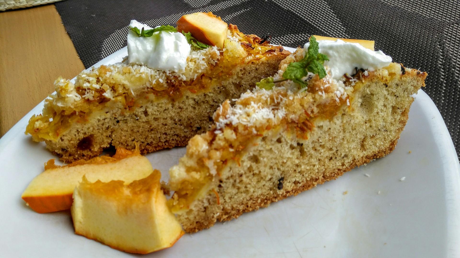 Dýňový koláč s chutí medového perníku recept