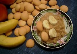 Banány s piškoty a přesnídávkou recept