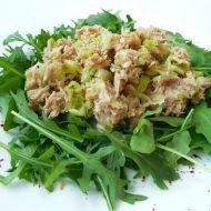Tuňákový salát s rukolou recept