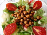 Cizrnové krutony na salát nebo do polévky recept