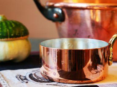 Krupková polévka s pórkem