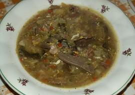 Kapustová polévka s houbami recept