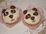 Panda muffiny s mandarinkami recept