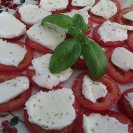 Letní salát Caprese recept