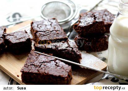 Květákové brownies recept