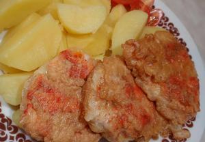 Kořeněné kuřecí řízky v těstíčku