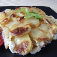 Brambory zapečené s celerem a sýrem recept