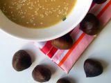 Polévka z pečených kaštanů recept