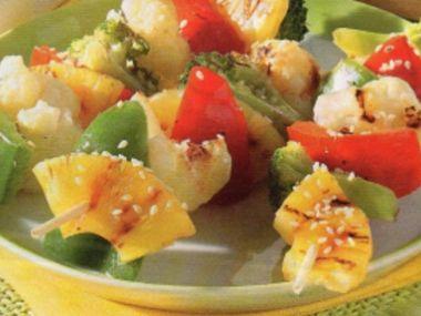 Zeleninový špíz grilovaný