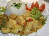Indické  Butter chicken recept