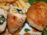 Kuřecí závitky se špenátem a fetou recept