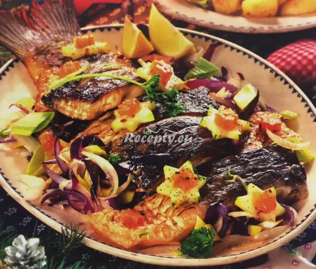 Vánoční kapr v míse recept  slavnostní pokrmy