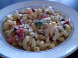 Těstovinový salát se sedmikráskou  vegan recept