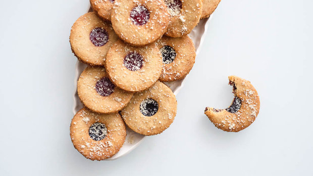 Mandlové linecké ne-cukr-oví