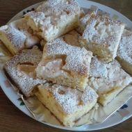 Citronový koláč s tvarohem recept