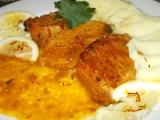 Vepřová pečeně na šafránu a citronech recept