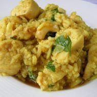 Kuřecí kousky v rýži basmati recept