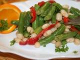 Fazolkový salát s paprikou recept