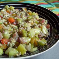 Zeleninové lečo s ředkvičkami recept