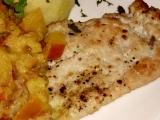 Kuřecí prsíčka s jablečným kari recept
