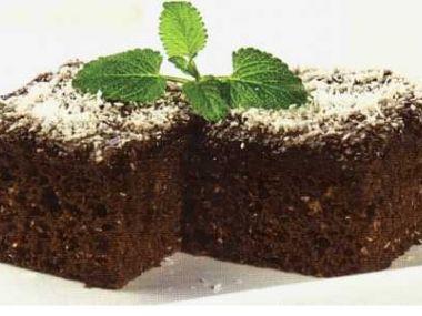 Kefírový koláč s kokosem