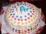 Lentilkový dort pro děti recept