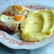 Krůtí maso z konzervy s vejci recept