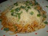 Špagety s hříbkovou omáčkou recept