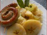 Bramborovo-celerové pyré s jablky a šalvějí recept