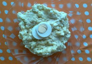 Bramborovo vajíčková pomazánka