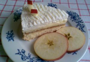 Vanilkovo-jablečná pohádka