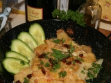 Dauphinois gratinované brambory recept