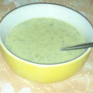 Smetanová brokolicová polévka recept