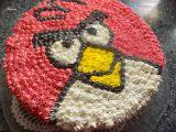 Nepečený dortík Angry Birds recept
