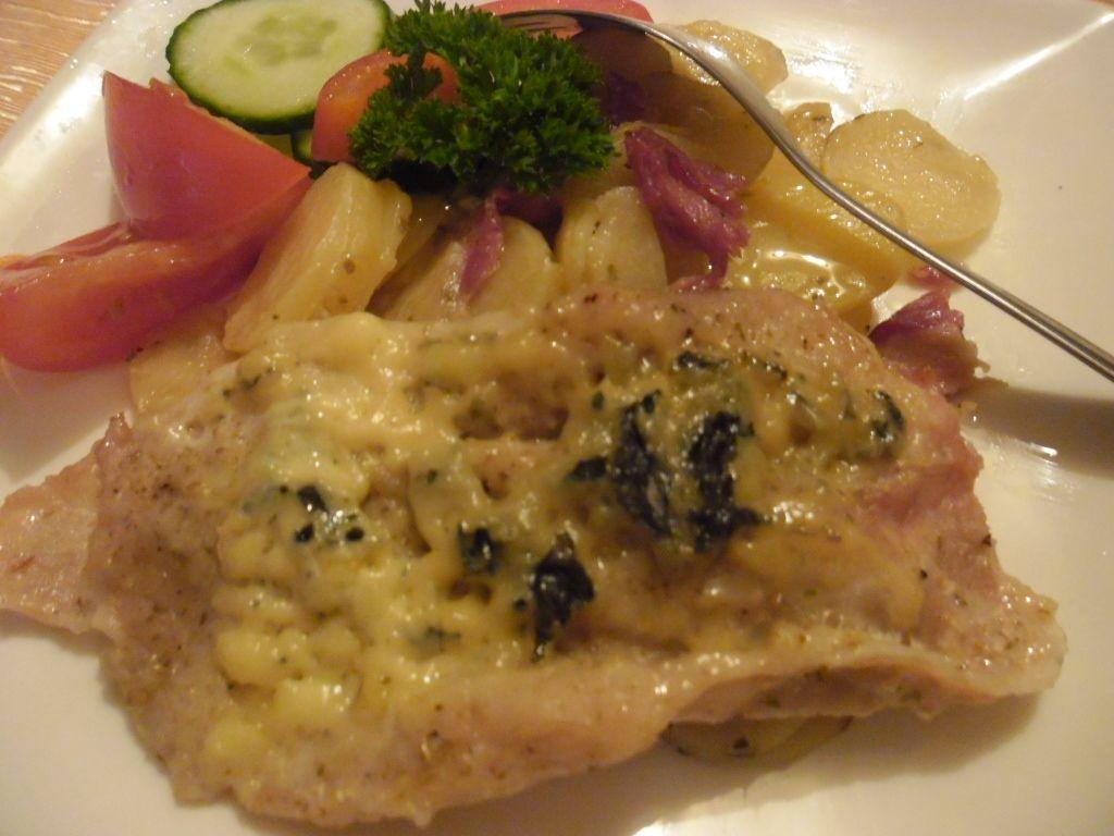 Maso+brambory v alobalu recept