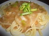 Špagety s arašídovou omáčkou recept