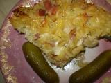 Mišmaš- zapečené bramboro-těstoviny recept