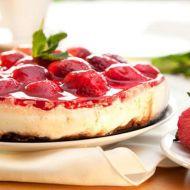 Jahodový nepečený dortík recept