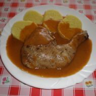 Kuřecí stehna na divoko recept